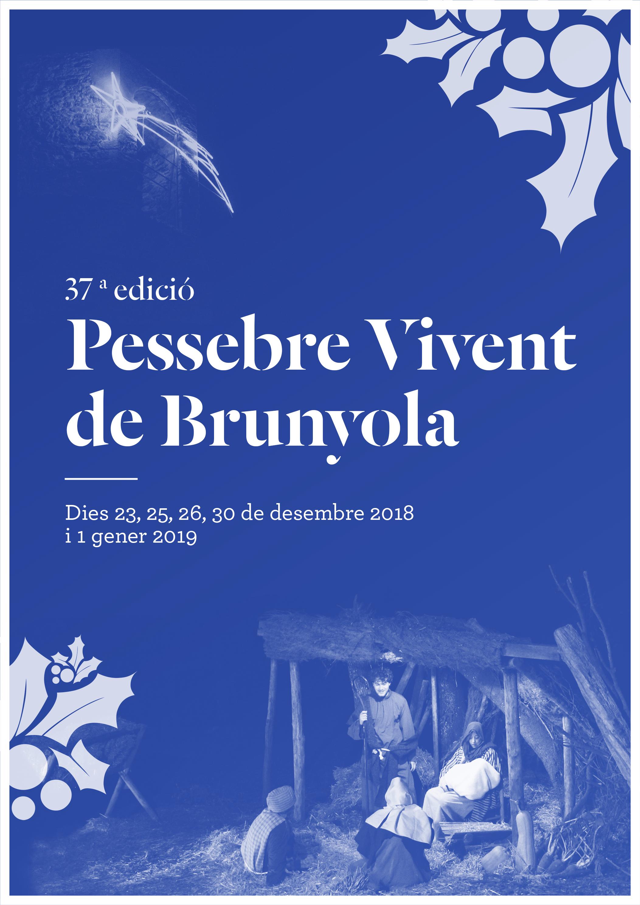 Fulletó 37a edició Pessebre Vivent de Brunyola